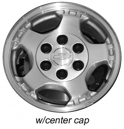 ... Alloy Stock Wheels and Rims for Chevrolet Silverado 1500 Pickup